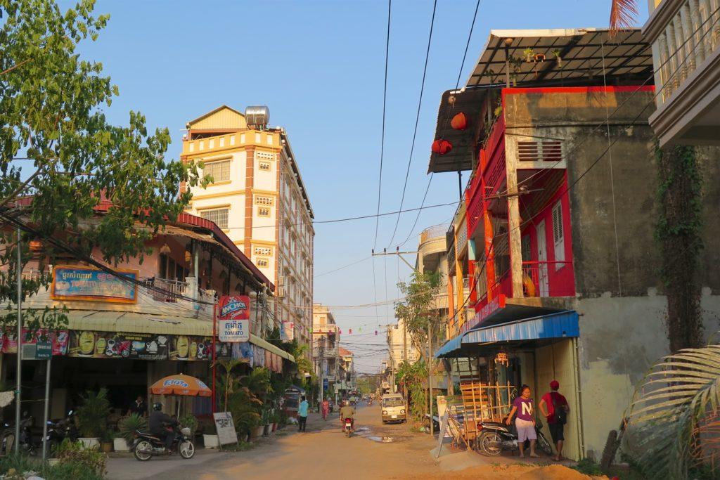Rue Battambang Cambodge blog voyage 19