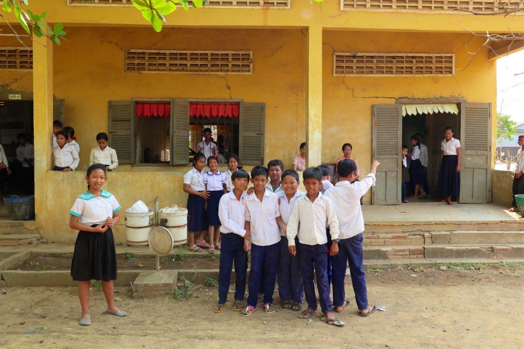 Ecole campagne Battambang Cambodge blog voyage 7