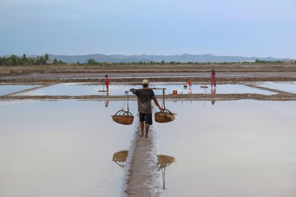 Marais salants Kampot Kep Cambodge blog voyage 13