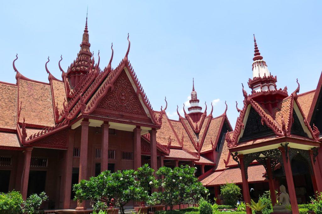 Musée National Phnom Penh Cambodge blog voyage 10