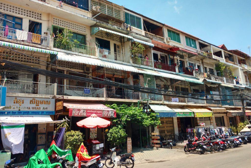 Immeubles Phnom Penh Cambodge blog voyage 12