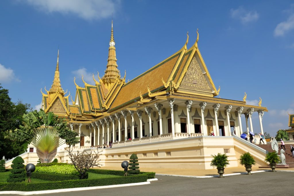 Palais Royal Phnom Penh Cambodge blog voyage 4