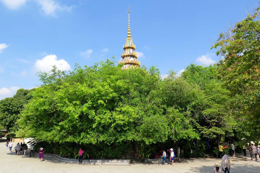 Stupa Pied Bouddha Phnom Penh Cambodge blog voyage 8