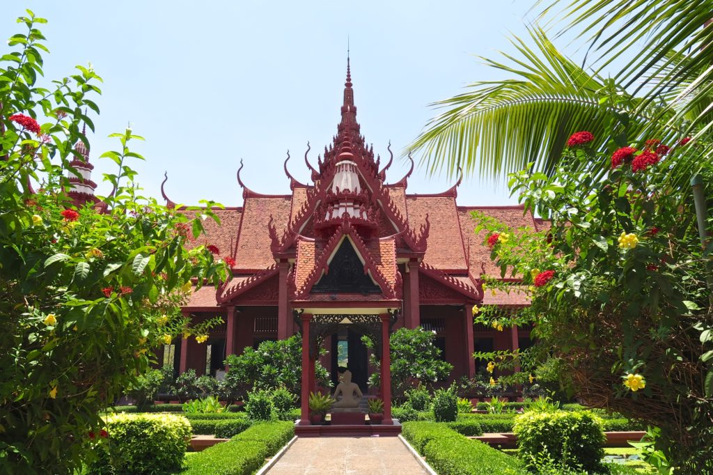 Jardin Musée National Phnom Penh Cambodge blog voyage 9