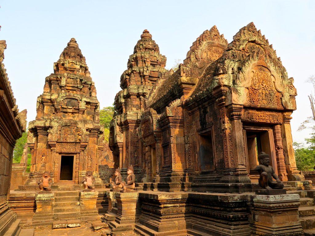 Banteay Srei Angkor Cambodge blog voyage