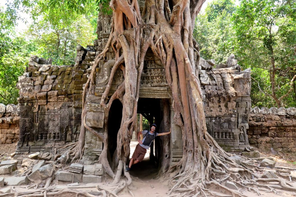Arbre Fromager Ta Som angkor cambodge blog voyage 20