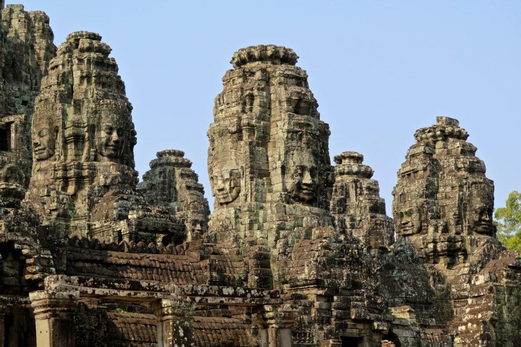 Visages Bayon angkor cambodge blog voyage 27
