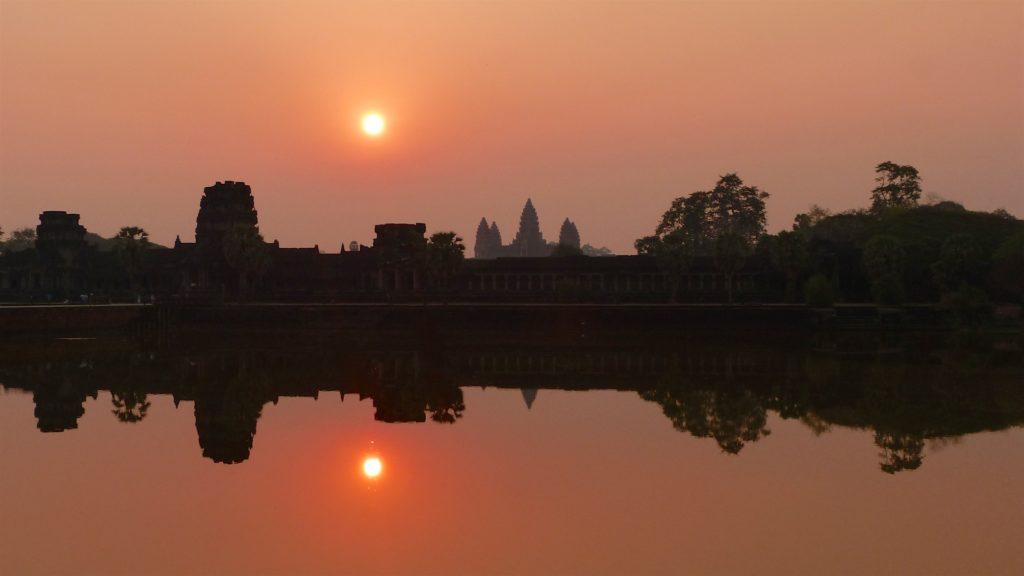 lever soleil angkor cambodge blog voyage 41