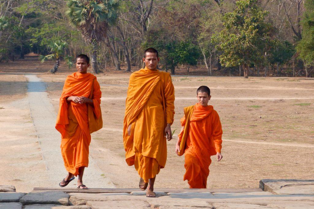 Moines Angkor cambodge blog voyage 45