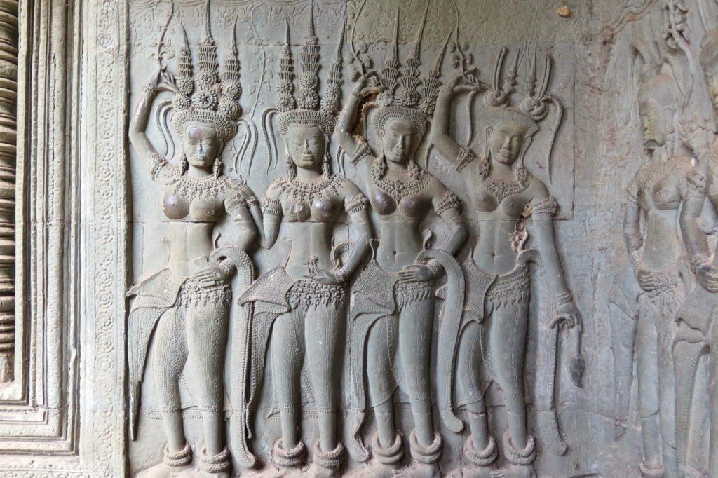 Aspara Angkor bilan Cambodge blog voyage 2016 7
