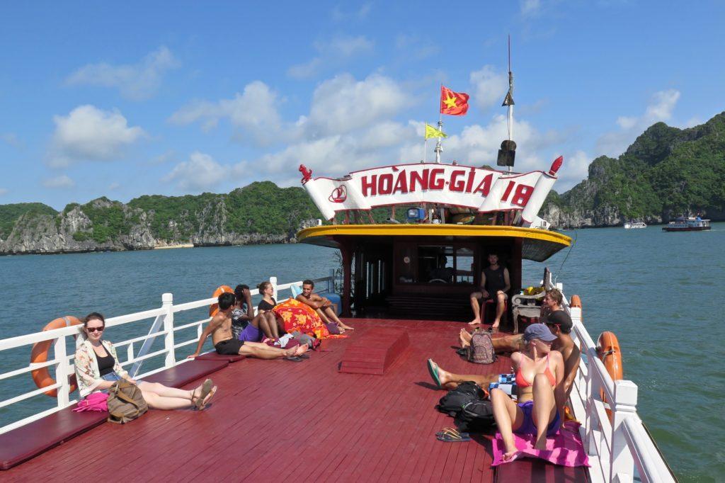 Jonque Cat Ba Baie Halong Vietnam blog voyage 2016 18