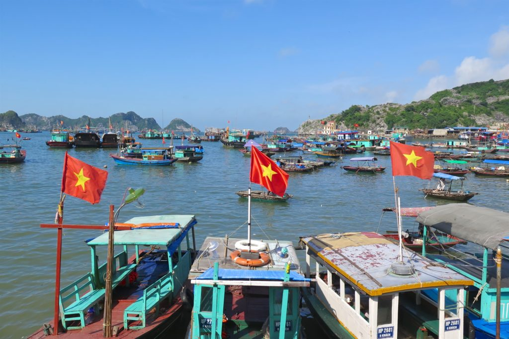 Port Cat Ba Baie Halong Vietnam blog voyage 2016 2 (1)