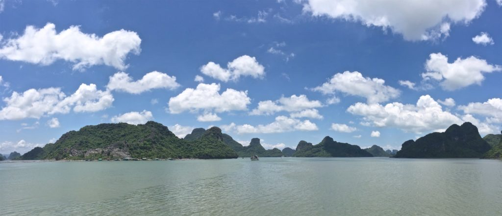 Embarcadere nord Cat Ba Baie Halong Vietnam blog voyage 2016 7