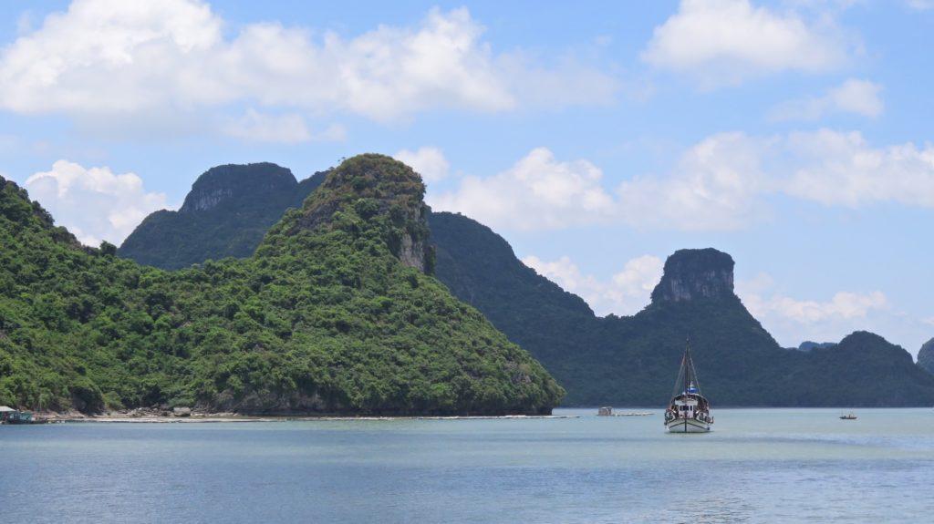 Baie Nord embarcadère Baie Nord Cat Ba Baie Halong Vietnam blog voyage 2016 8