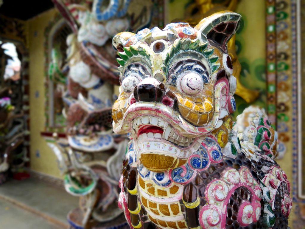 Mosaique pagode Linh Phuoc Dalat Vietnam blog voyage 2016 20
