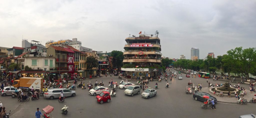 Centre ville Hanoi Vietnam blog voyage 2016 2