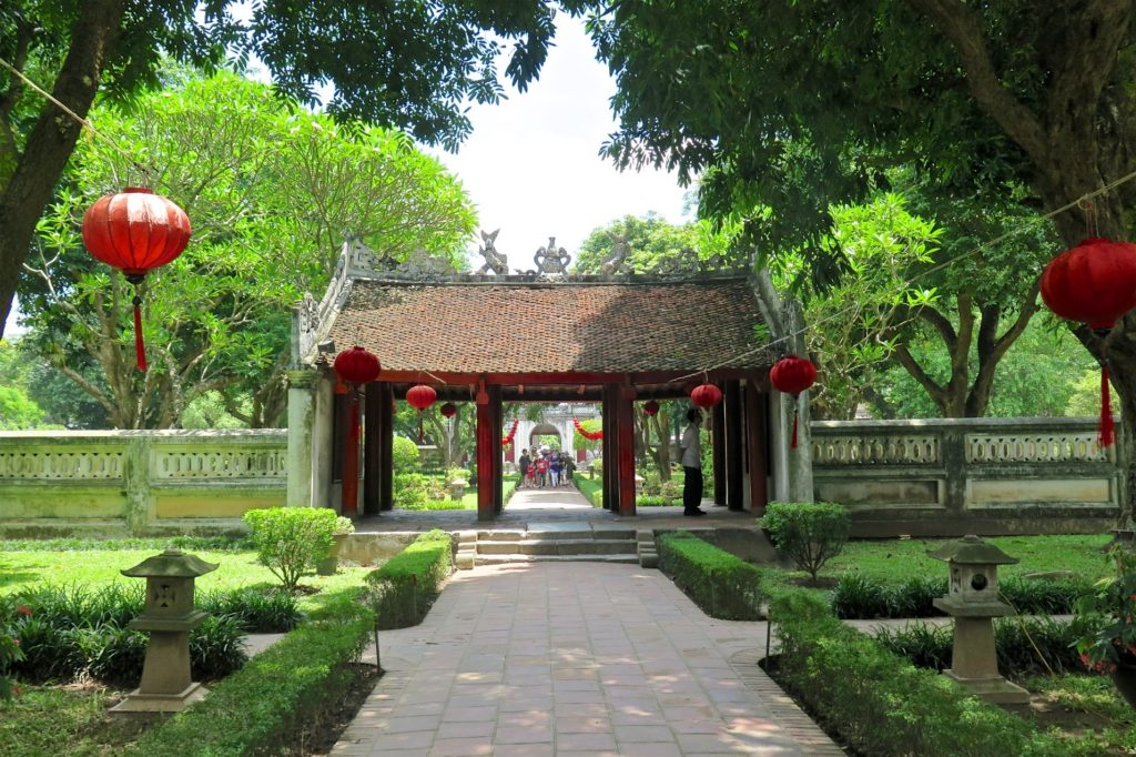 Temple Litterature Hanoi Vietnam blog voyage 2016 27