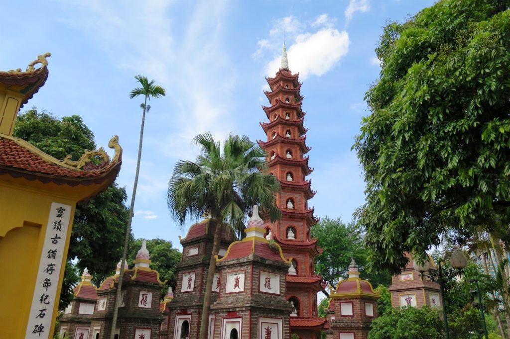 Pagode Tran Quoc Hanoi Vietnam blog voyage 2016 31