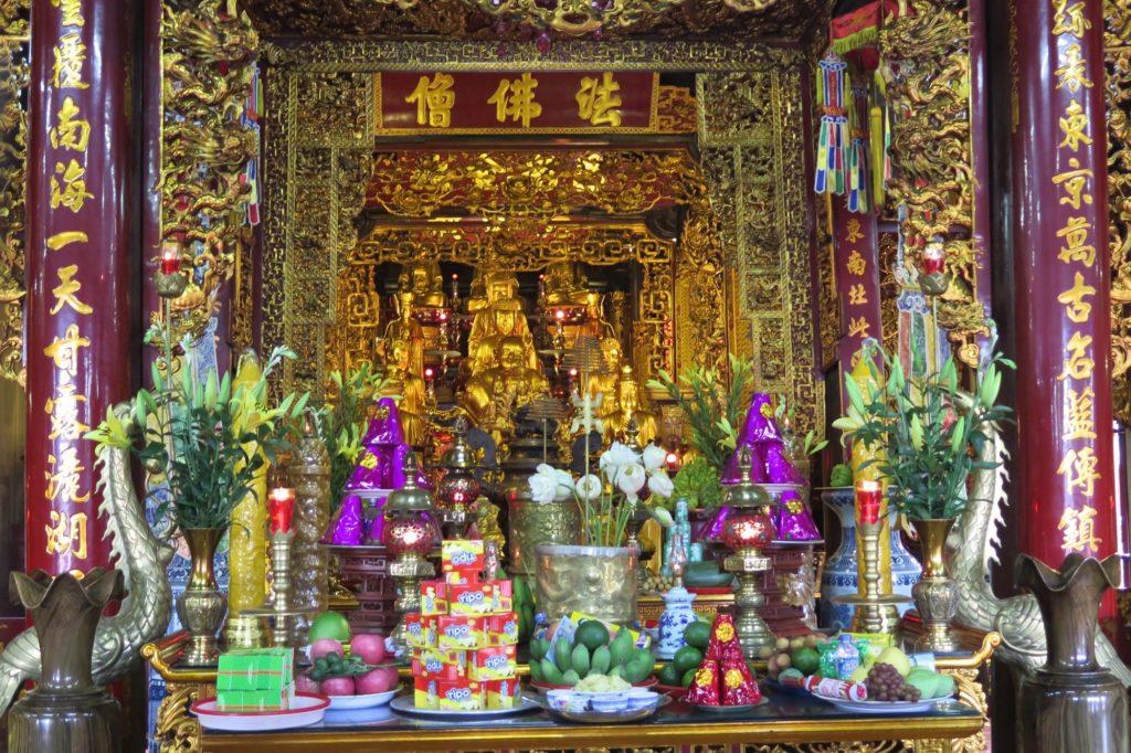 Pagode Tran Quoc Hanoi Vietnam blog voyage 2016 32