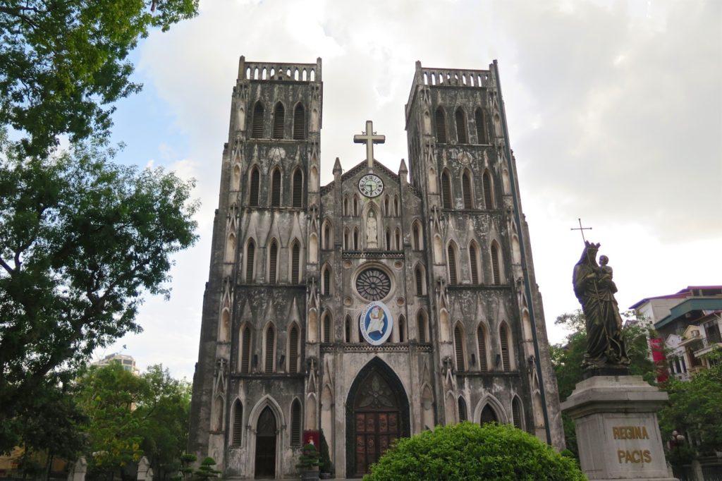 Cathédrale St Joseph Hanoi Vietnam blog voyage 2016 4