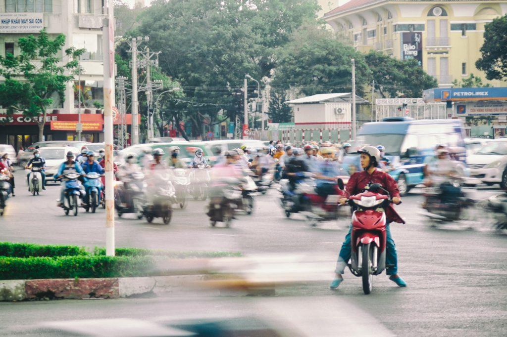 Scooter Hochiminh ville Vietnam blog voyage 2016 1