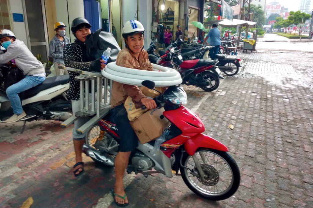 Scooter Hochiminh ville Vietnam blog voyage 2016 11
