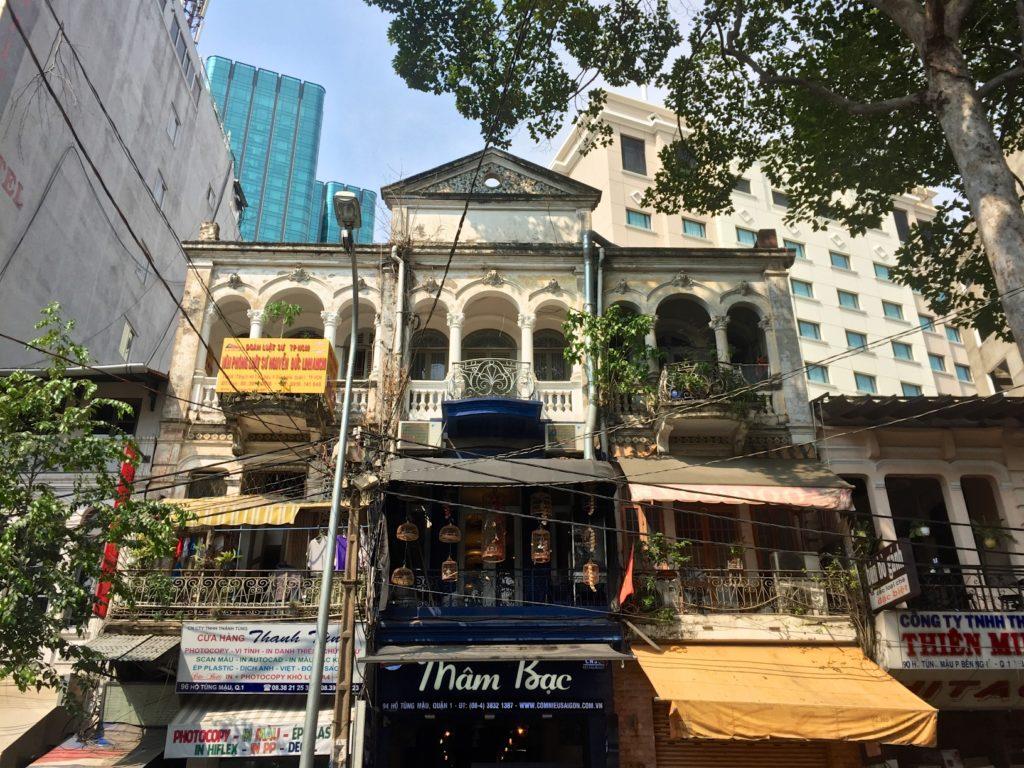 Maison coloniale Hochiminh ville Vietnam blog voyage 2016 22