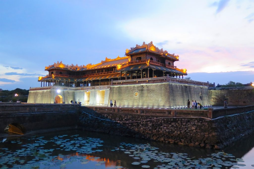 Entree cite royale Hue Vietnam blog voyage 2016 1