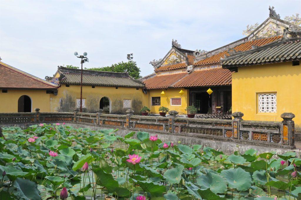 Pavillons cité impériale Hue Vietnam blog voyage 2016 23
