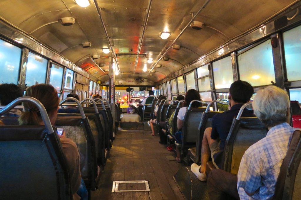 Bus local Bangkok Thailande blog voyage 2016 3
