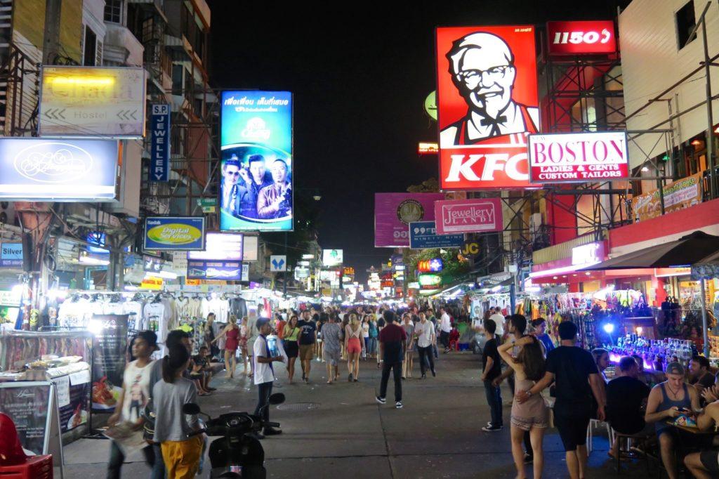 Khao San Road Bangkok Thailande blog voyage 2016 4