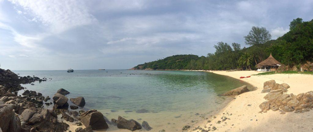 Coral bay Koh Phangan Thailande blog voyage 2016 18