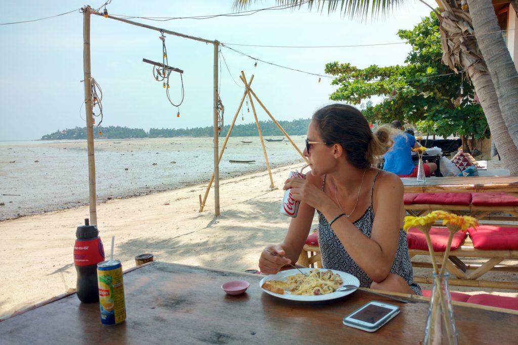 lunch Koh Phangan Thailande blog voyage 2016 24