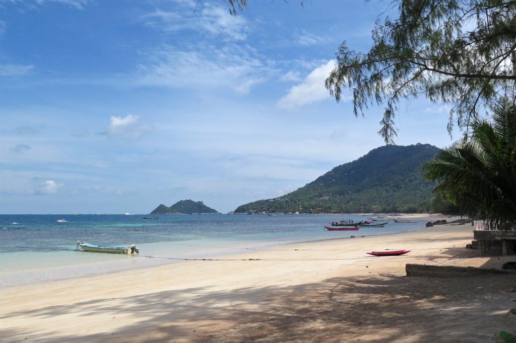 Sairee Beach Koh Tao Thailande blog voyage 2016 1