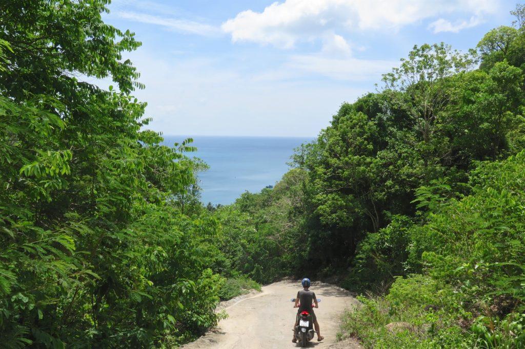 Scooter Koh Tao Thailande blog voyage 2016 4