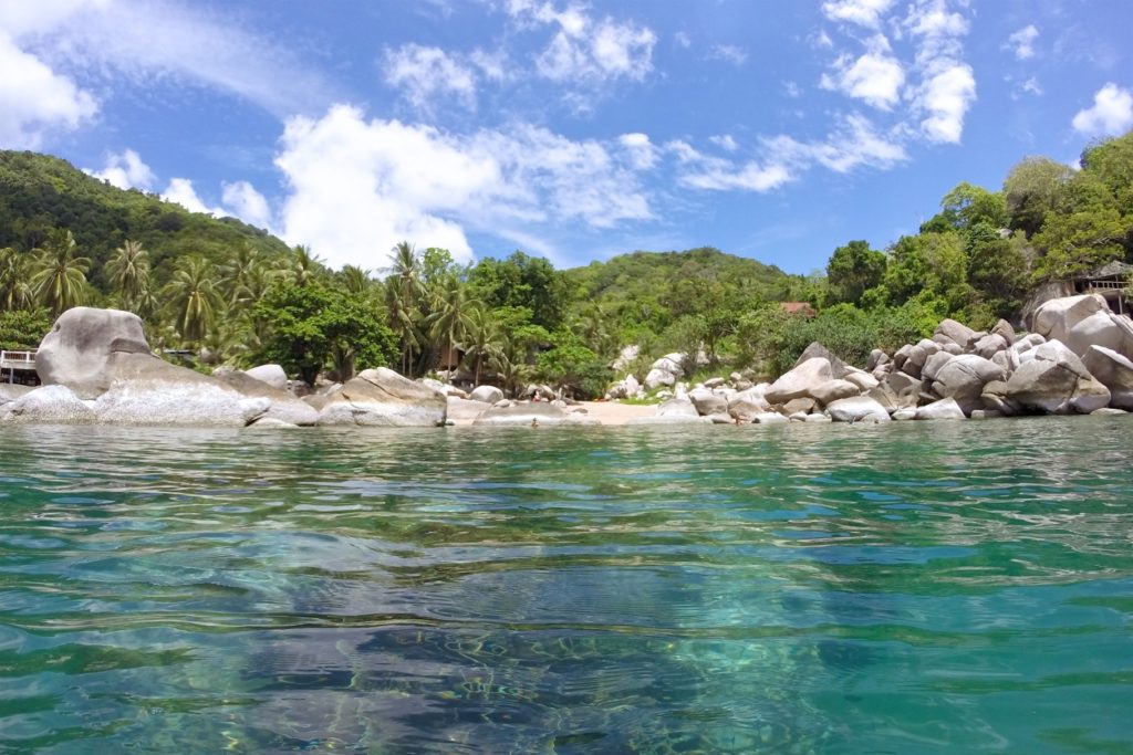 Hin Wong Beach Koh Tao Thailande blog voyage 2016 7
