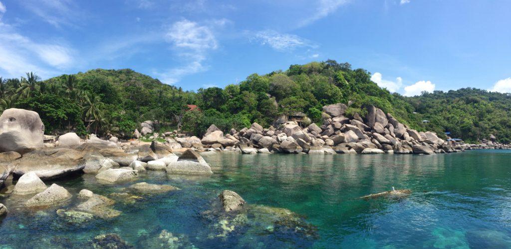 Hin Wong Beach Koh Tao Thailande blog voyage 2016 8