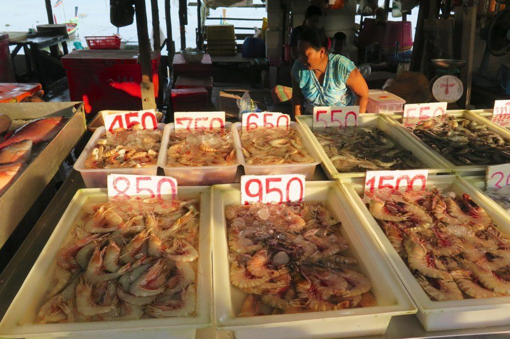 Marché poissons Phuket Thailande blog voyage 2016 7