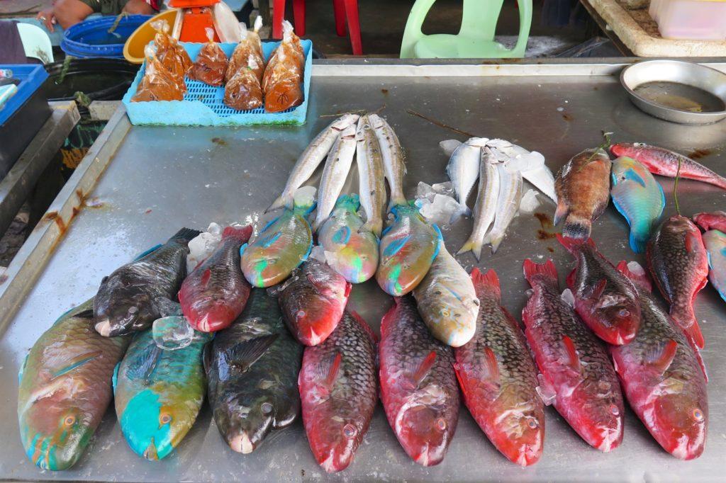 Marché poissons Phuket Thailande blog voyage 2016 8