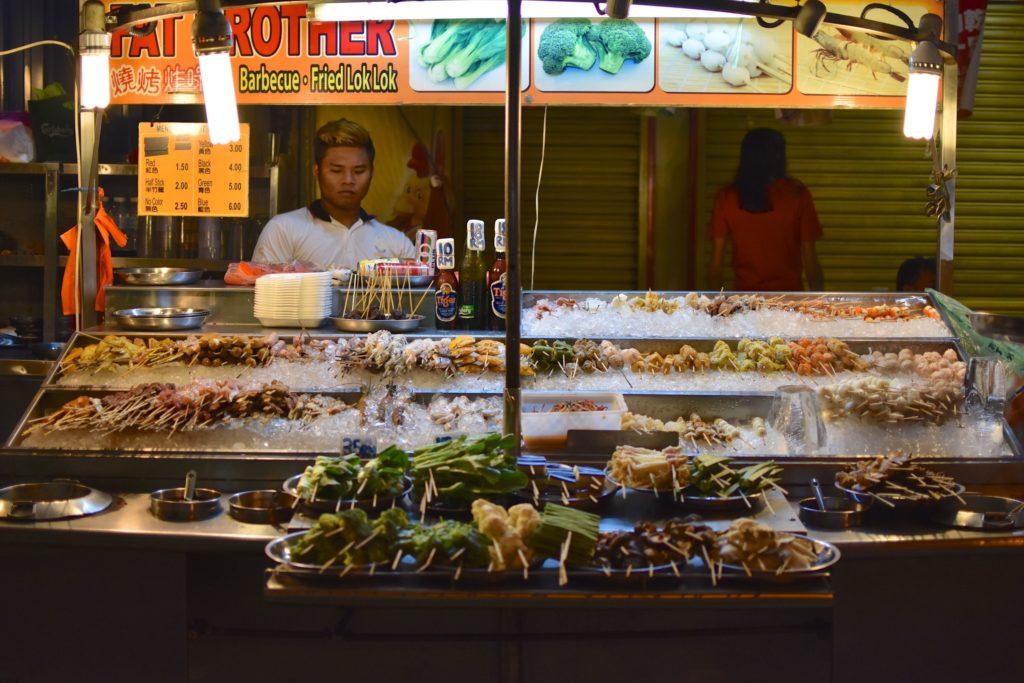Diner Chinatown Kuala Lumpur Malaisie blog voyage 2016 19