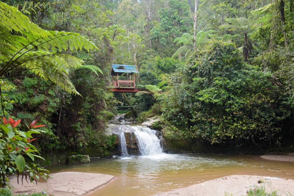 Parit falls Tanah Rata Cameron Highlands Malaisie blog voyage 2016 2