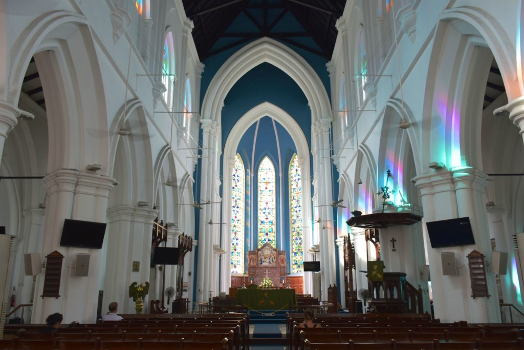 Cathedrale St Andrew Singapour blog voyage 2016 38