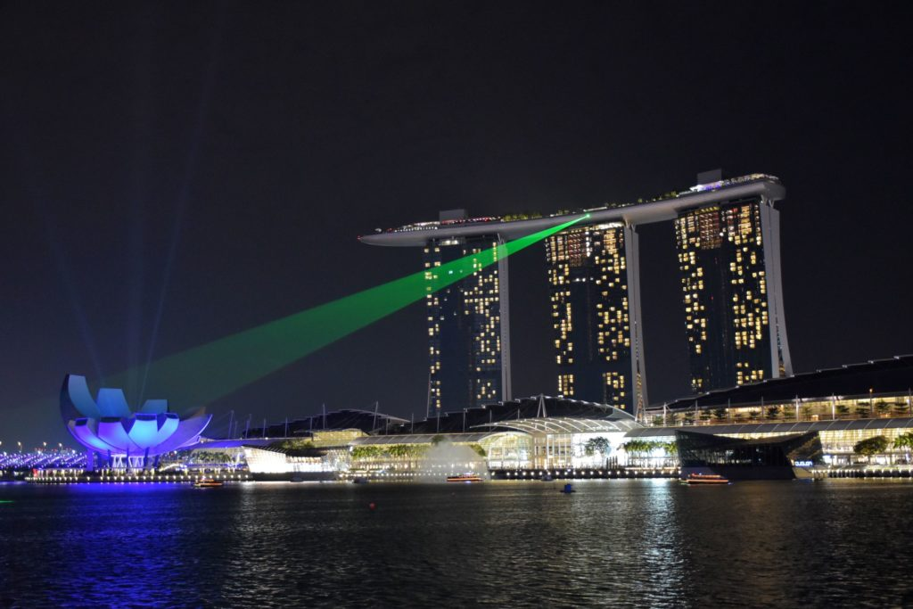 Water Show Marina Bay Sands Singapour blog voyage 2016 46