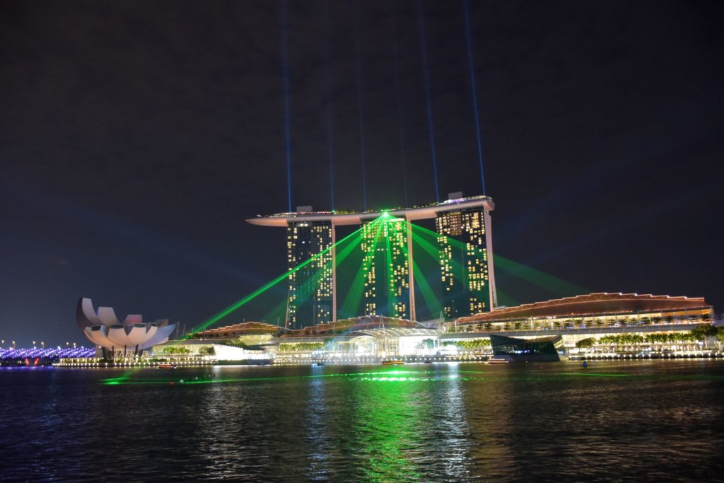 Water Show Marina Bay Sands Singapour blog voyage 2016 47