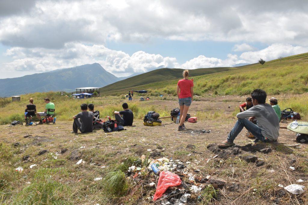 Pause déjeuner trek-rinjani-lombok-indonesie-blog-voyage-2016-6