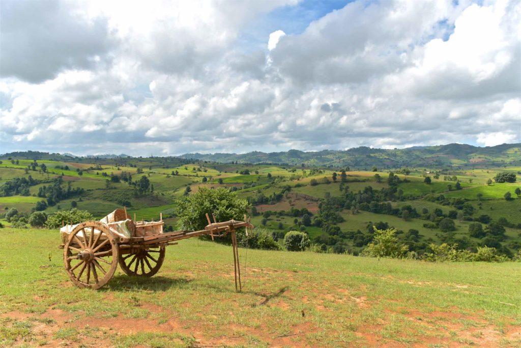Charette Trek-Kalaw-Inle-Myanmar-blog-voyage-2016 31