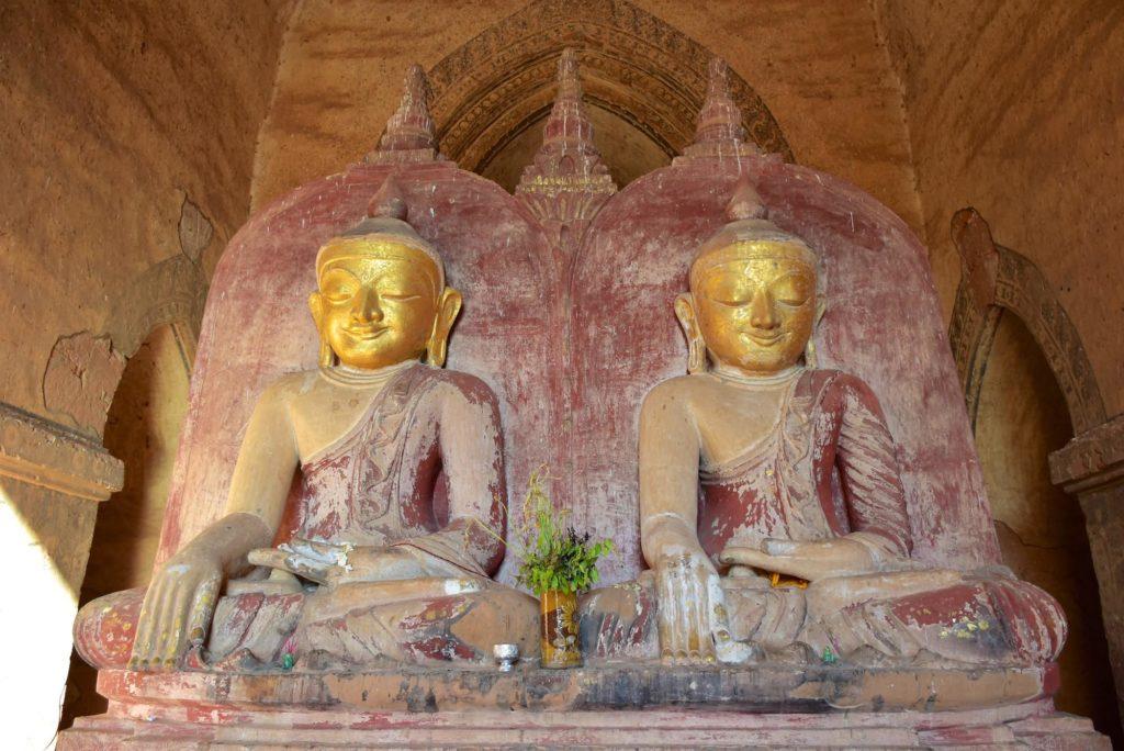 Bouddhas jumeaux Decouverte-Bagan-Myanmar-Birmanie-blog-voyage-2016 26