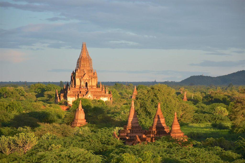 Coucher de soleil Decouverte-Bagan-Myanmar-Birmanie-blog-voyage-2016 59