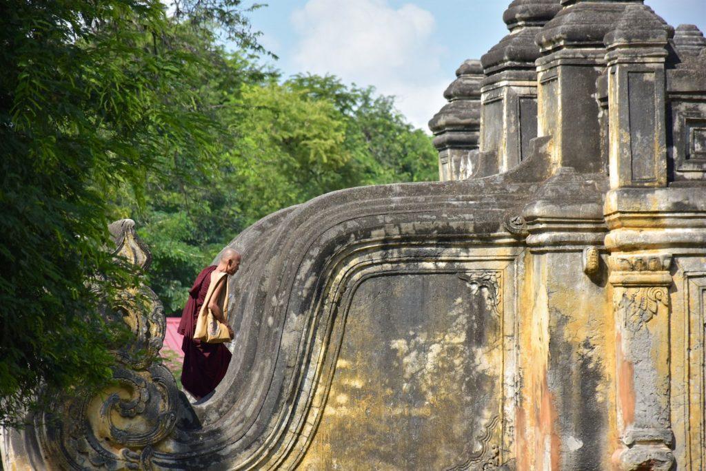 Moine Maha Aung Mye Bon Zan Mandalay-Inwa-Ubein-Myanmar-Birmanie-blog-voyage-2016 51