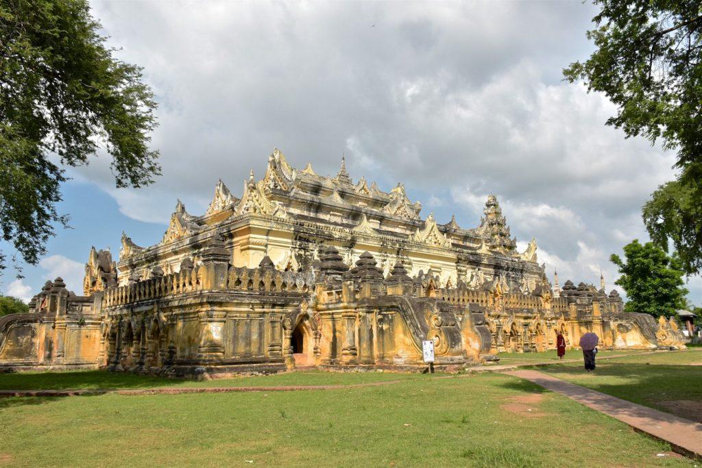 monastère Maha Aung Mye Bon Zan Mandalay-Inwa-Ubein-Myanmar-Birmanie-blog-voyage-2016 53